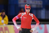 SCHAATSEN: BERLIJN: Sportforum, 06-12-2013, Essent ISU World Cup, 500m Ladies Division B, Vanessa Bittner (AUT), ©foto Martin de Jong