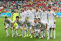 Spain team group line-up, <br /> JUNE 13, 2014 - Football /Soccer : <br /> 2014 FIFA World Cup Brazil <br /> Group Match -Group B- <br /> between Spain 1-5 Netherlands <br /> at Arena Fonte Nova, Salvador, Brazil. <br /> (Photo by YUTAKA/AFLO SPORT) [1040]