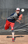 VIERA, FL - FEBRUARY 11:  Pitcher Drew Storen of the Washington Nationals Baseball Club poses for a photo at Spacecoast Stadium February 11, 2013 in Viera, Florida (Photo by Donald Miralle for the Washington Nationals Baseball Club)