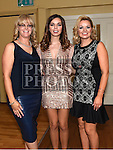 Leanne Johnson, Shannon and Roisin Cassidy at the Team Carrie annual dinner and presentation night. Photo:Colin Bell/pressphotos.ie