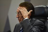 BRASÍLIA, DF, 21.02.2017 – SABATINA-SENADO – O presidente da CCJ, senador Edson Lobão, durante sabatina na CCJ do Senado, na tarde desta terça-feira, 21.  (Foto: Ricardo Botelho/Brazil Photo Press)