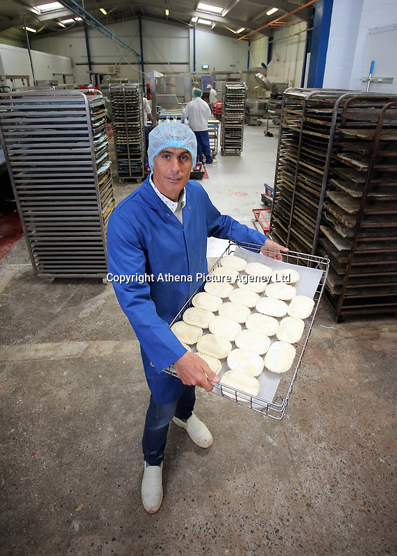 Pictured: Owner Wilf Lewis. Friday 26 May 2017<br /> Re: Lewis Pie and Pasty Company which has gone into halal products in Swansea, Wales, UK