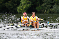 MasE.2x SF -  Berks: 225 Essendon RC (AUS) -  Bucks: 228 Norwich RC<br /> <br /> Friday - Henley Masters Regatta 2016<br /> <br /> To purchase this photo, or to see pricing information for Prints and Downloads, click the blue 'Add to Cart' button at the top-right of the page.