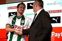 GRONINGEN - Voetbal, Presentatie Jannik Pohl, FC Groningen seizoen 2018--2019, 29-08-2018,