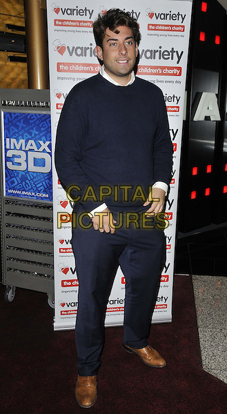 LONDON, ENGLAND - SEPTEMBER 14: James &quot;Arg&quot; Argent attends the &quot;The Wizard of Oz in IMAX 3D&quot; charity film screening, The Empire cinema, Leicester Square, on Sunday September 14, 2014 in London, England, UK. <br /> CAP/CAN<br /> &copy;Can Nguyen/Capital Pictures