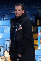 Huddersfield Town Manager, Jan Siewert, on the pitch ahead of kick-off during Chelsea vs Huddersfield Town, Premier League Football at Stamford Bridge on 2nd February 2019