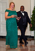 Associate Justice of the Supreme Court Clarence Thomas and Virginia Thomas arrive for the State Dinner hosted by United States President Donald J. Trump and First lady Melania Trump in honor of Prime Minister Scott Morrison of Australia and his wife, Jenny Morrison, at the White House in Washington, DC on Friday, September 20, 2019.<br /> Credit: Ron Sachs / Pool via CNP