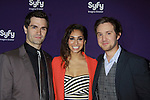 Sam Witwer - Meathan Rath - Sam Huntington in Being Human at the Syfy Upfront 2012 on April 24, 2012 at the American Museum of Natural History , New York City  (Photo by Sue Coflin/Max Photos)