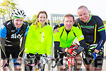 Competeing in the Castleisland AFC cycle on sunday were Aidan Scanlon tralee, Louise and Tom McCarthy Castleisland and Joe Sheehy Tralee