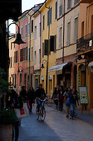 Street scene at Ravenna,Italy