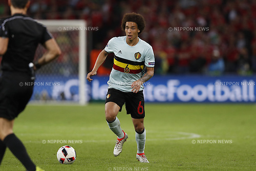 Axel Witsel (BEL), JULY 1, 2016 - Football / Soccer : UEFA EURO 2016 Quarter-finals match between Wales 3-1 Belgium at the Stade Pierre Mauroy in Lille Metropole, France. (Photo by Mutsu Kawamori/AFLO) [3604]
