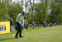 Martin Elandsson tees off on the 4th tee during the third round of the Irish Open on 19th of May 2007 at the Adare Manor Hotel & Golf Resort, Co. Limerick, Ireland. (Photo by Eoin Clarke/NEWSFILE).