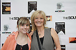 "As The World Turns' Ellen Dolan with her daughter Angela at The private Industry Screening of ""The Southside"", A Lany Film Tribute to Robert Areizaga, Jr. on February 27, 2012 at Tribeca Cinemas, New York City, New York.  (Photo by Sue Coflin/Max Photos)"
