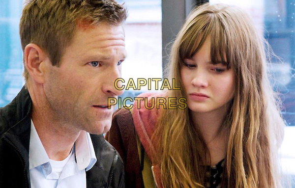 Aaron Eckhart & Liana Liberato .in Erased (2012) .*Filmstill - Editorial Use Only*.CAP/NFS.Supplied by Capital Pictures.