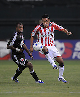 Chivas USA midfielder Jesus Padilla (10).  Chivas USA defeated DC United 2-0  at RFK Stadium, Saturday October 3, 2009.