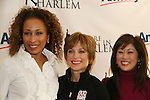 Tamara Tunie - Dorothy Hamill & Kristi Yamaguchi at Skating with the Stars (celebrities & Olympic skaters), a benefit gala for Figure Skating in Harlem on April 6, 2010 at Wollman Rink, Central Park, New York City, New York. (Photo by Sue Coflin/Max Photos)