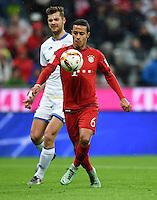 FUSSBALL  1. BUNDESLIGA  SAISON 2015/2016  24. SPIELTAG FC Bayern Muenchen - 1. FSV Mainz 05       02.03.2016 Thiago Alcantara (FC Bayern Muenchen)