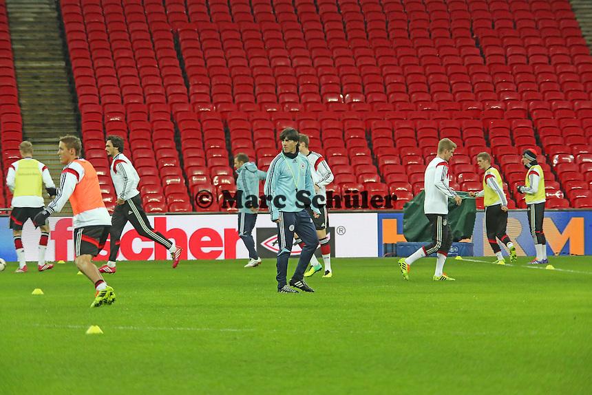 Abschlusstraining der Nationalmannschaft im Wembley Stadium