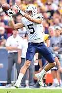 Landover, MD - SEPT 24, 2016: BYU Cougars wide receiver Nick Kurtz (5) catches a pass during their match up against BYU at FedEx Field in Landover, MD. (Photo by Phil Peters/Media Images International)