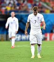 FUSSBALL WM 2014  VORRUNDE    Gruppe D     England - Italien                         14.06.2014 Jack Wilshere (England) ist enttaeuscht