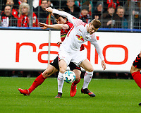 Caglar SOEYUENCUE (SOEYUENCUE), SCF - Timo WERNER, RB Leipzig   Fussball, 1. Bundesliga  2017/2018<br /> <br /> <br />  Football: Germany, 1. Bundesliga, SC Freiburg vs RB Leipzig, 20.01.2018. *** Local Caption *** © pixathlon