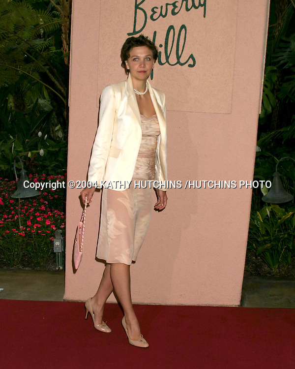 ©2004 KATHY HUTCHINS /HUTCHINS PHOTO.CREST WHITESTRIPS STYLE AWARDS.BEVERLY HILLS, CA.JUNE 16, 2004..MAGGIE GYLLENHAAL.