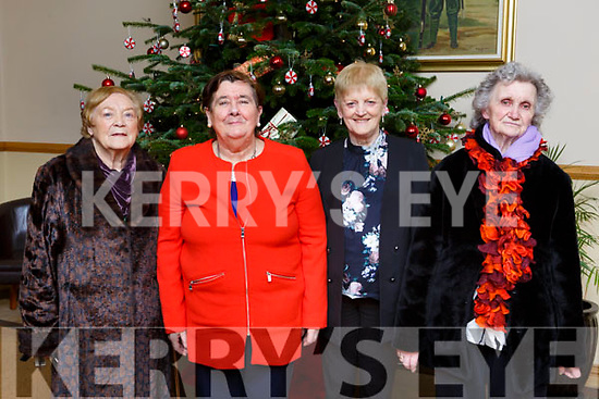 Enjoying the Active Retirement Groups Christmas party in the Kerins O'Rahillys clubhouse on Monday evening are from l to r: Kathleen Nolan, Kay Long, Siobhan Ahern & Nettie Dowling.