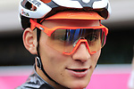 Mathieu Van Der Poel of The Netherlands at sign on before the Men Elite Road Race of the UCI World Championships 2019 running 280km from Leeds to Harrogate, England. 29th September 2019.<br /> Picture: Eoin Clarke | Cyclefile<br /> <br /> All photos usage must carry mandatory copyright credit (© Cyclefile | Eoin Clarke)