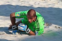 RAVENNA, ITALIA, 10 DE SETEMBRO 2011 - MUNDIAL BEACH SOCCER / EL SALVADOR X RUSSIA - Andrey Bukhliskiy goleiro da Russia , durante a partida contra o El Salvador, válida pela semi-final do Mundial de Futebol de Areia no Estádio Del Mare, em Ravenna, na Itália, neste sábado (10).FOTO: VANESSA CARVALHO - NEWS FREE