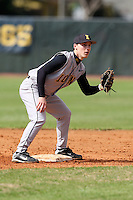February 27, 2010:  Shortstop Kurt Lee (2) of the Iowa Hawkeyes during the Big East/Big 10 Challenge at Raymond Naimoli Complex in St. Petersburg, FL.  Photo By Mike Janes/Four Seam Images