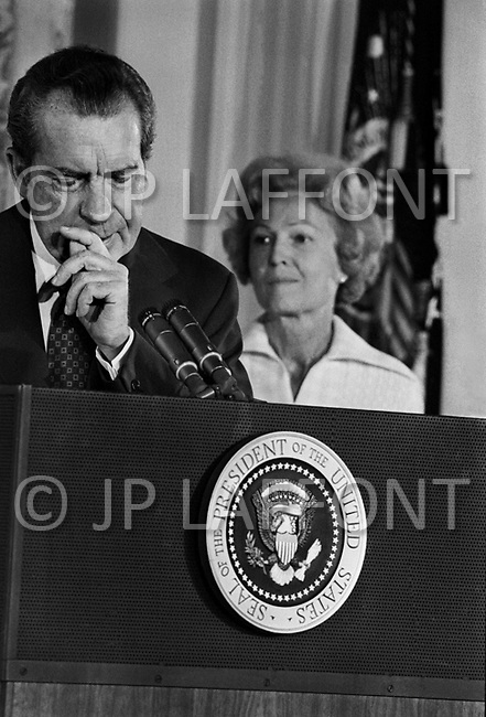Washington, DC. August 9th,1974.<br />