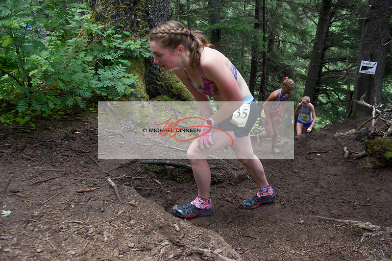 4564<br /> Chugiak&rsquo;s Hannah Booher early in the race.  Photo for the Star by Michael Dinneen