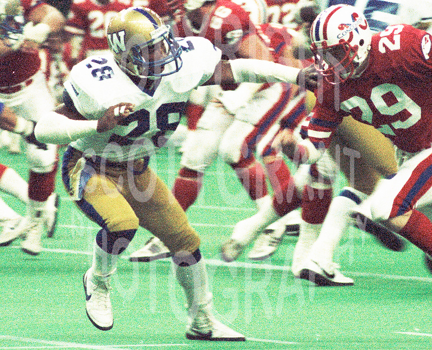 Winnipeg Blue Bombers-1985Photo:Scott Grant