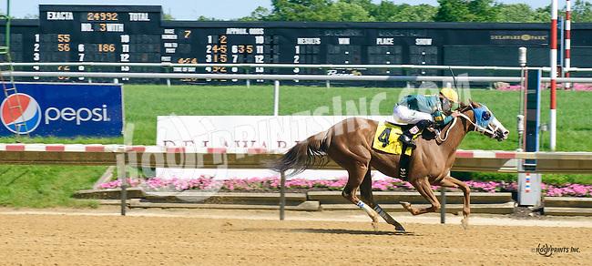 Ritzy Lass winning at Delaware Park on 6/9/16