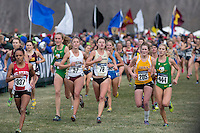 Colorado's Kaitlyn Benner (78) runs to the finish in the pack during the NCAA Cross Country Championships in Terre Haute, Ind. on Saturday, Nov. 22, 2014. (James Brosher, Special to the Denver Post)