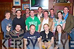 Ken Ryan Killarney seated second from left gets a big send off from his friends at his farewell party in O'Riain's bar Killarney on Saturday night before his emigration to Canada   Copyright Kerry's Eye 2008