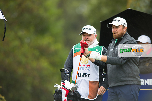 Shane Lowry (IRL) during the second day of the World cup of Golf, The Metropolitan Golf Club, The Metropolitan Golf Club, Victoria, Australia. 23/11/2018<br /> Picture: Golffile | Anthony Powter<br /> <br /> <br /> All photo usage must carry mandatory copyright credit (© Golffile | Anthony Powter)