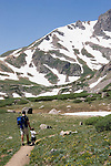 Father and son on Herman Gulch Trail, James Peak Wilderness Area, Georgetown, Colorado. .  John leads hiking and photo tours throughout Colorado. .  John leads private photo tours in Boulder and throughout Colorado. Year-round.