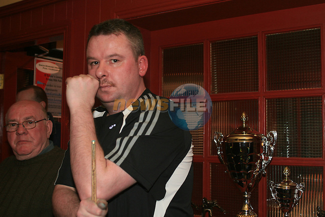 Peter Vogelaar Snr. at the Sosad fundraising pool tournament in O'Casey's Pool Lounge...Photo NEWSFILE/Jenny Matthews.(Photo credit should read Jenny Matthews/NEWSFILE)....This Picture has been sent you under the condtions enclosed by:.Newsfile Ltd..The Studio,.Millmount Abbey,.Drogheda,.Co Meath..Ireland..Tel: +353(0)41-9871240.Fax: +353(0)41-9871260.GSM: +353(0)86-2500958.email: pictures@newsfile.ie.www.newsfile.ie.FTP: 193.120.102.198.