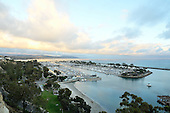Photo of sunset over Dana Point Harbor Orange County California