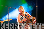 Sharon Shannon performing at the Dome, Tralee for the Rose of Tralee Festival on Thursday.