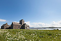 Iona Abbey, Iona, Isle of Mull, Scotland, UK.