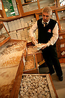 Turkish delight at Ali Muhiddin Haci Bekir in Eminonu, Istanbul, Turkey