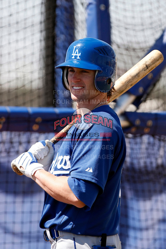 Adam Godwin - Los Angeles Dodgers - 2009 spring training.Photo by:  Bill Mitchell/Four Seam Images
