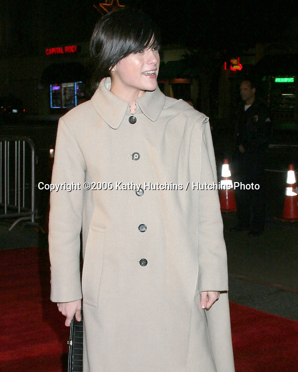 "Selma Blair .with strange new haircut.LA Screening of ""Pan's Labyrinth"".Egyptian Theater.Los Angeles, CA.December 18,  2006.©2006 Kathy Hutchins / Hutchins Photo"