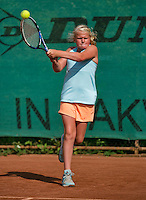 August 4, 2014, Netherlands, Dordrecht, TC Dash 35, Tennis, National Junior Championships, NJK,  Milou Goetheer (NED)<br /> Photo: Tennisimages/Henk Koster