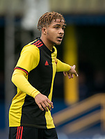Jayden Bennetts of Watford u23 during the Professional Development League match between Watford U23 and Ipswich Town U23 at Clarence Park, St Albans, England on 4 November 2019. Photo by Andy Rowland.