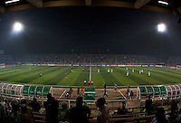 Sani Abacha Stadium.. Spain defeated the U.S. Under-17 Men National Team  2-1 at Sani Abacha Stadium in Kano, Nigeria on October 26, 2009.