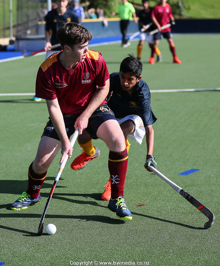Kings College v Auckland Grammar 1st XI Hockey, Auckland Grammar, Saturday 18 May 2019 Photo: Simon Watts/www.bwmedia.co.nz