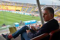 Carlos Queiroz, Tecnico Seleccion Colombia Futbol Mayores, Estadio Campin Bogota, 09-02-2019